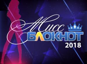 Началось голосование в конкурсе «Мисс Блокнот Ставрополь-2018»