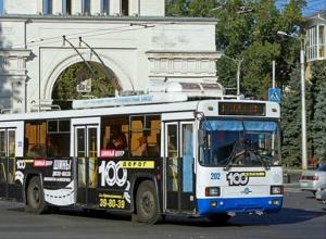 Штраф за неоплаченный через переднюю дверь проезд в троллейбусе в Ставрополе составляет 19 рублей