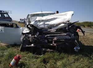 Один человек погиб и трое получили травмы в страшном ДТП с «Приорой» и «Газелью» на Ставрополье