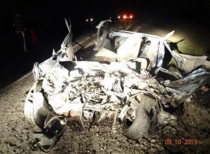 Водитель ВАЗа погиб в страшном ДТП с вылетом на «встречку» в Ставропольском крае