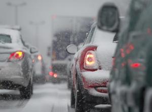 Из-за жуткой непогоды ограничено движение на трассе в Ставропольском крае