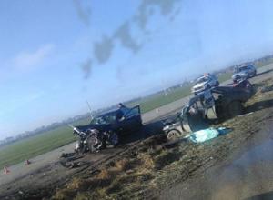 Пассажир «Приоры» погиб при столкновении с «БМВ» на Ставрополье