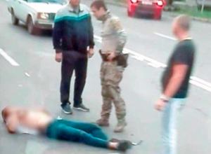 Автомобиль сбил пешехода рядом с подземным переходом в Ставрополе