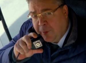 Водителем автобуса стал глава Ставрополья в ролике о выборах президента
