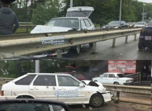 Мистическая «зеркальная» авария с двумя ВАЗ-2114 поразила ставропольцев