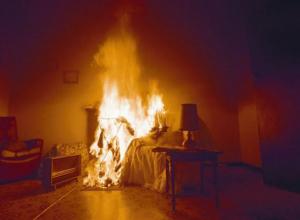 Квартира загорелась на улице Льва Толстого в Ставрополе