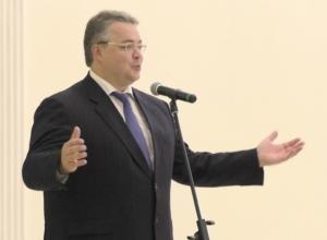 Губернатор Ставрополья эффектно появился на сцене под музыку из фильма «Рокки» и пошутил про коррупцию в минсельхозе
