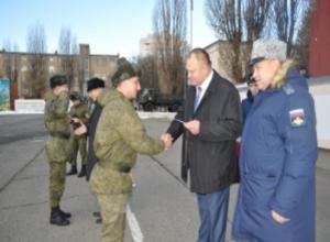 Ставропольские солдаты, побывавшие в Сирии, вернулись  домой