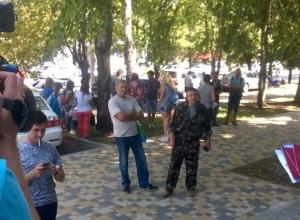 Драка произошла перед встречей лидера партии ПАРНАС Михаила Касьянова в Ставрополе с жителями края