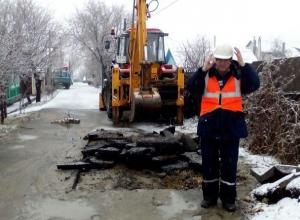Несколько улиц остались без воды из-за прорыва трубы в Ставрополе