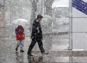 Сильный мокрый снег с холодным ветром ждут жителей Ставрополья в среду
