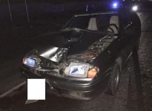 Молодой водитель на ВАЗе сбил насмерть пешехода под Ставрополем