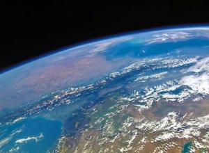 Впечатляющий вид на Ставрополье сфотографировал российский космонавт с высоты орбиты МКС
