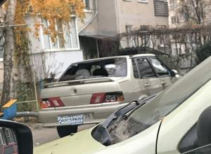 Пытавшихся сбить человека ночных беспредельщиков на ВАЗ-2115 «проучили» в Ставрополе