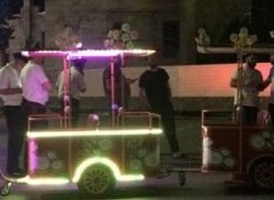 Ребенок попал под колеса детского паровозика в Кисловодске, - очевидцы