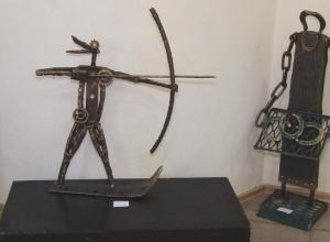 Инсталляции из металлолома в жанре анепластики появились в Кисловодске
