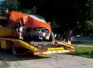 Мужчина погиб в жестком ДТП на Ставрополье, - очевидцы