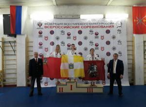 Ставропольские каратисты взяли три первых места в Туле