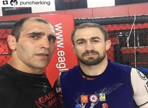 Бывший боец смешанных единоборств Ислам Каримов со Ставрополья готовит к предстоящему бою экс-бойца UFC Али Багаутинова