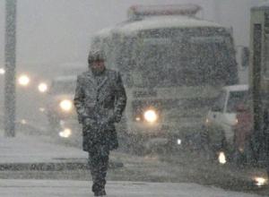 Сильный мокрый снегопад «накрыл» Ставрополь до 8 декабря