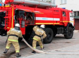 Человек пострадал при пожаре в многоквартирном доме в Ставрополе