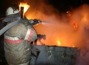 Парилка загорелась вечером в ставропольском селе