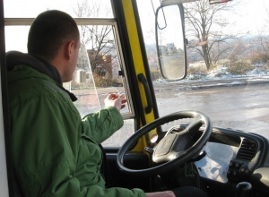 Водителя городского автобуса уволили за хамскую езду по дорогам Ставрополя