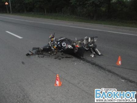 На Ставрополье два человека погибли в автоаварии