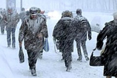 Метель ожидается на Ставрополье 17 марта