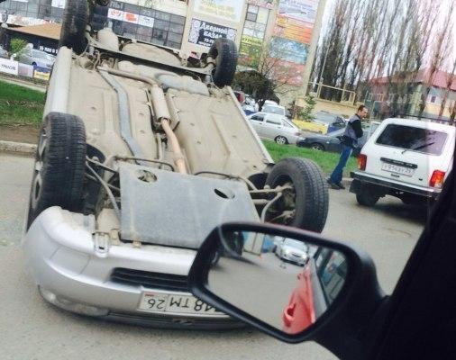 В юго-западном районе Ставрополя произошло ДТП