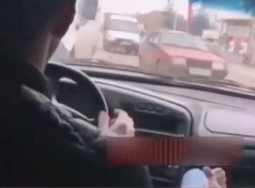 Водитель «катался» по встречке на улицах Ставрополя, а его друг снимал это на видео