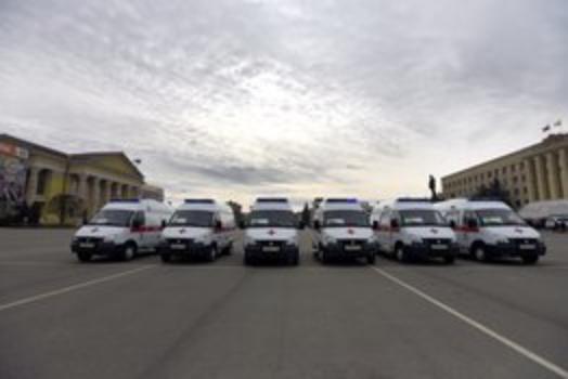 Новые автомобили готовы служить больницам Ставрополья