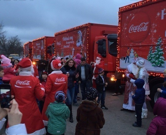 Рождественский караван Coca-Cola прибудет вТюмень