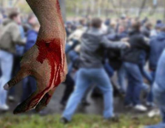 Массовую драку со стрельбой в Кисловодске засняли на видео