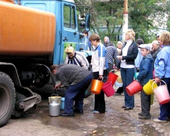 С вечера до утра отключат воду в центре Ставрополя