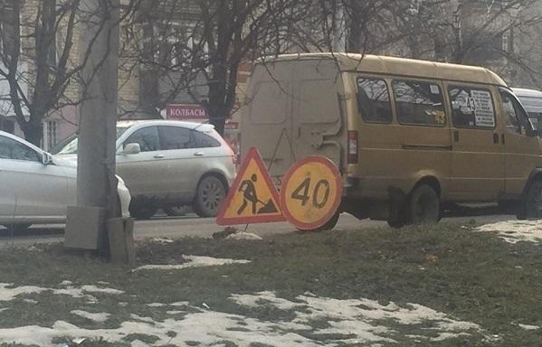 Дневной ремонт дороги привел к огромной пробке на длиннейшей улице Ставрополя