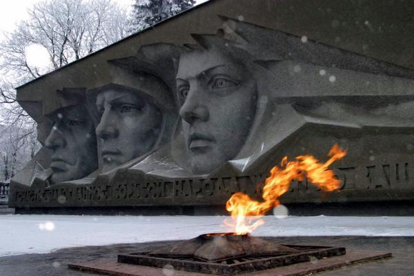 ВСтаврополе почтили память освободителей города отфашистских оккупантов