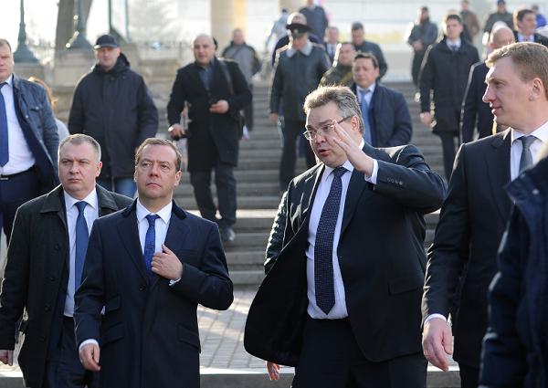 Дмитрию Медведеву представили проект реконструкции «Нижних минеральных ванн» вЕссентуках