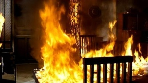 Ставропольчанка ночью подожгла дом своей знакомой из личной неприязни