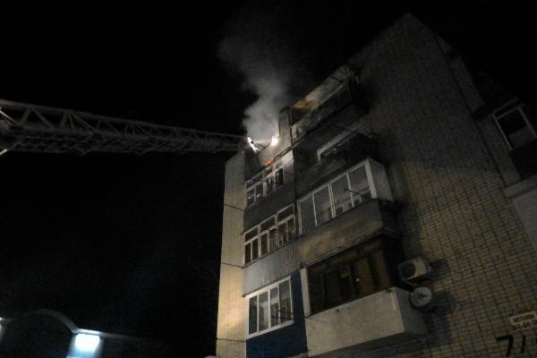 ВСтаврополе впроцессе пожара умер 78-летний пенсионер