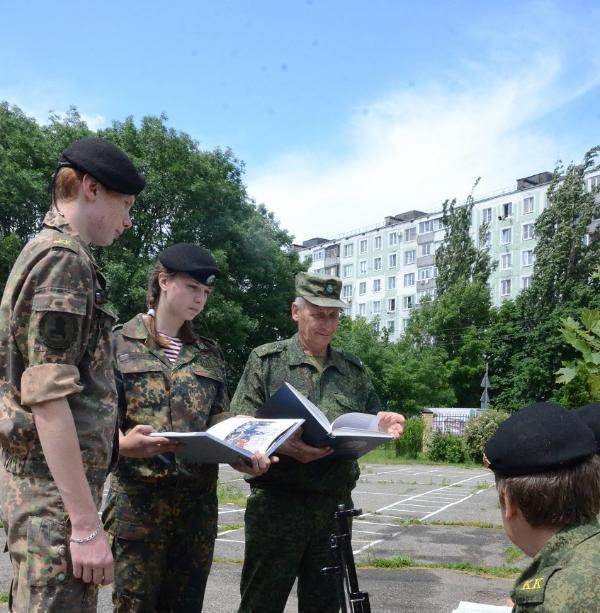 Ставропольские кадеты необычно отметили годовщину Полтавской битвы