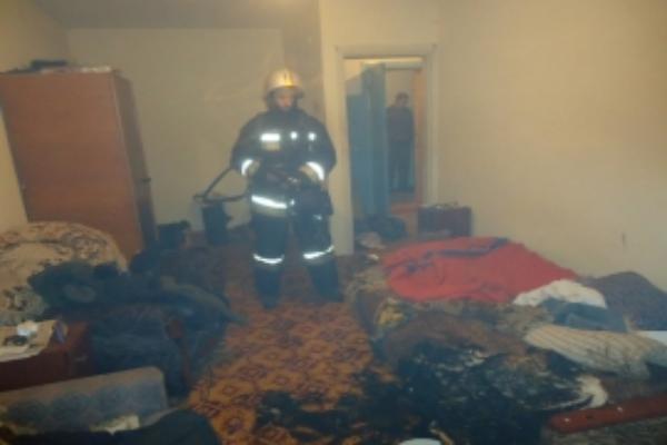Впожаре вКисловодске эвакуировали 45 человек, втом числе пятерых детей