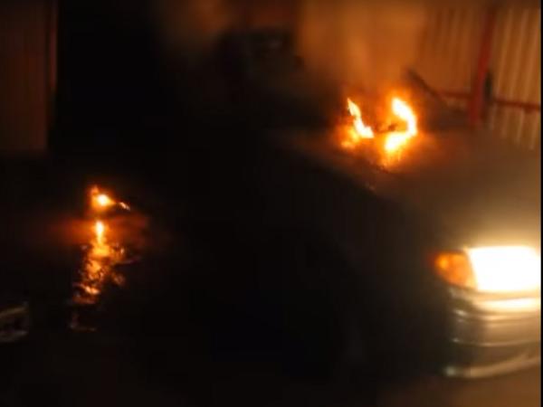 Уголовное дело возбудили после поджога машины ставропольского общественника