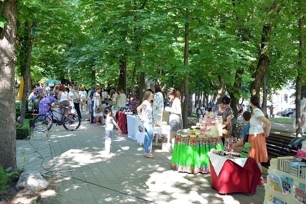 «Город мастеров»— репетиция празднования Дня города Ставрополя