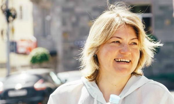 Ставропольчанка путешествует на велосипеде по России