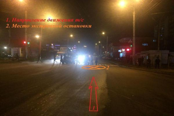 Пассажир пострадал из-за экстренного торможения маршрутки вСтаврополе