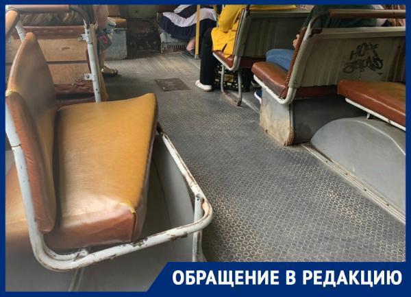«О состоянии общественного транспорта никто не думает», - ставропольчанка о неисправных маршрутках