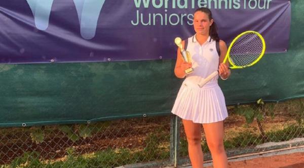 Ставропольская теннисистка достойно представила край на международном турнире