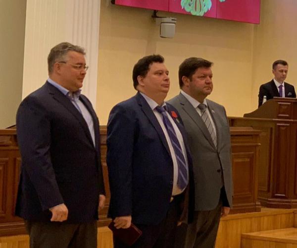 Ставропольцы получили государственные и краевые награды накануне Дня России