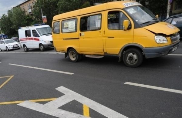 В ДТП в Ставрополе попал общественный транспорт